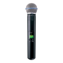 Shure SLX2 Handheld Transmitter with Beta 58 Head