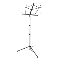 On Stage Tubular Tripod Base Sheet Music Stand with Bag