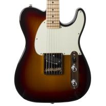 G&L Solamente Electric Guitar - 3-Tone Sunburst w/ Case