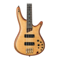 Ibanez SR1400EVNF Soundgear 4-String Vintage Natural Flat Bass Guitar