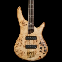 Ibanez SR1600ENT Premium Series Soundgear 4 String Bass Natural Flat with Gigbag