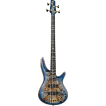 Ibanez SR2600ECBB Premium Soundgear 4 String Bass Guitar In Cerulean Blue Burst