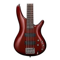 Ibanez SR305 5-String Electric Bass in Root Beer Metallic