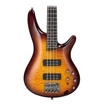 Ibanez SR400EQMBBT Soundgear 4 String Bass Brown Burst