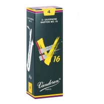 Vandoren SR744 Baritone Sax V16 Strength 4, Box of 5 Reeds