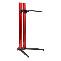 Stay Piano Series 44 Single-Tier Keyboard Stand Red