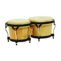 Tycoon STBBN Supremo Series Bongos in Natural Finish
