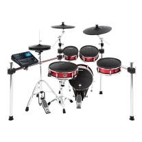 Alesis Strike Kit | Eight-Piece Professional Electronic Drum Kit with Mesh Heads