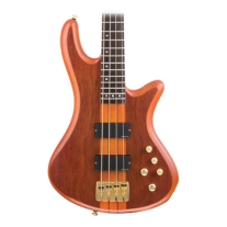Schecter Guitar Research Studio 4H 4 String Bass in Honey Burst