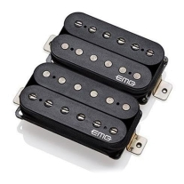 EMG Super 77 Humbucker Pickup Set, Black