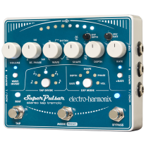 Electro Harmonix Super Pulsar Stereo Tap Tempo Pedal