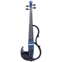 Yamaha SV200KBLU Silent Violin In Ocean Blue Instrument Only