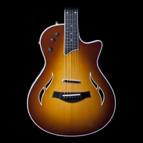 Taylor T5 Standard Thinline Acoustic Electric Guitar in Tobacco Sunburst