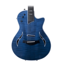 Taylor T5Z Pro Acoustic Electric Guitar in Pacific Blue