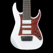 Ibanez TAM10WH Tosin Abasi Signature 8 String Signature Electric Guitar White