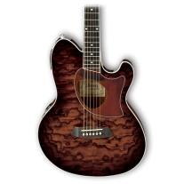 Ibanez TCM50VBS Talman Acoustic Guitar in Vintage Brow Sunburst High Gloss
