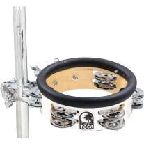 Toca Jingle-Hit Tambourine with Mount 6""