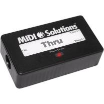MIDI Solutions Thru 1in 2 Out MIDI Thru Box