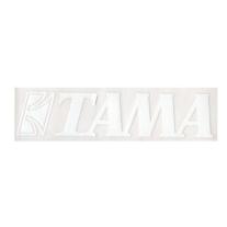 Tama Logo Sticker - White