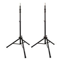 Ultimate Support TS-100 Air-Powered Speaker Stand Pair in Black
