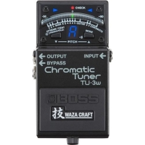 Boss TU-3W Chromatic Tuner with Waza Expertise