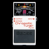Boss Roland TU3 TU-3 Chromatic Tuner Pedal for Guitar or Bass
