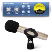 Presonus TubePre V2 Preamp & Joe Meek JM27 Condenser Microphone Bundle