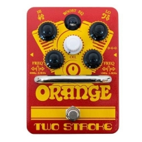 Orange Two Stroke Boost EQ Pedal