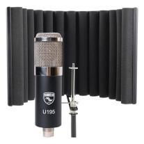 Soundelux USA U195 Studio FET Condenser Mic & RF-X Reflexion Filter