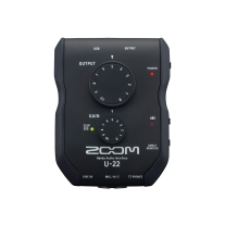 Zoom U-22 Portable USB Handy Audio Interface