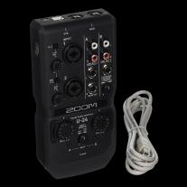 Zoom U-24-Channel Audio Interface