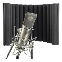 Neumann U87 Ai Shockmount Set Z Mic with Box and RF-X Reflexion Filter