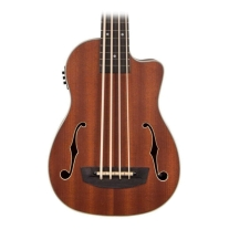 Kala Journeyman Acoustic-Electric U-Bass with F-Holes