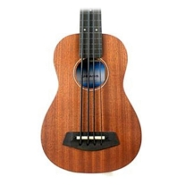 "Kala U Bass 20"" Scale Fretless Bass Ukulele All Solid Mahogany w/ Case"