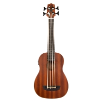 Kala Ubass Wanderer Ubass Fretted Ukulele Bass with Gig Bag