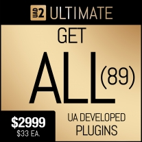 Universal Audio Ultimate Plug-In Package with The 89 UAD Plug-Ins