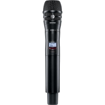 Shure ULXD2/K8B Handheld Transmitter with KSM8 Capsule in Black