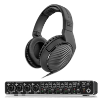 Behringer U-PHORIA UMC404HD - USB 2.0 Audio/MIDI Interface with Free Headphones