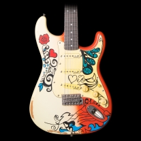 Vintage Icon V6MRHDX Summer of Love Strat