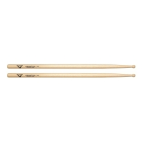 Vater VH7AW 7A Wood Tip Hickory Drum Sticks, Pair
