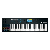 Alesis VX49 | 49-Key USB MIDI Keyboard & Drum Pad Controller W/Color Screen