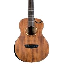 Washburn Comfort Series G-Mini 55 Koa Acoustic Guitar w/ Gig Bag