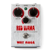 Way Huge 25th Anniversary Red Llama Overdrive Pedal