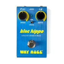Way Huge WM61 Blue Hippo Analog Chorus Smalls Series Guitar Effects Pedal