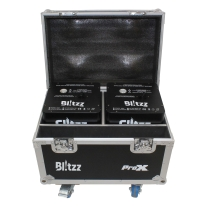 ProX Blitzz Cold Spark Effect Machine Set of 2 W/Road Case