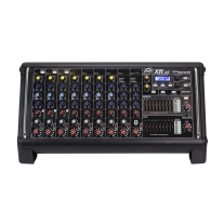 Peavey XRAT XR-AT - 9-Channel Powered Mixer with Auto-Tune
