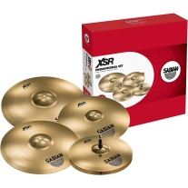 "Sabian XSR5005GB XSR Performance Set with FREE18"" Fast Crash"