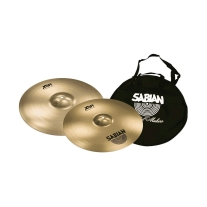 "Sabian XSR 16"" and 18"" Promotional Bundle with Cymbal Bag"