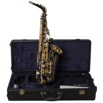Yamaha YAS82Z IIB Custom Professional Alto Saxophone in Black Lacquer