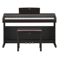 Yamaha YDP-144 Traditional Console Digital Piano with Bench - Rosewood